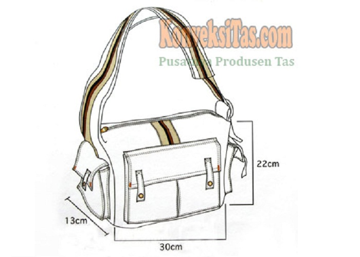Desain dan Produksi Aneka Macam Tas